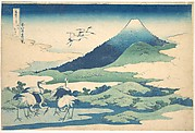 Umezawa Manor in Sagami Province (Sōshū Umezawa zai),  from the series Thirty-six Views of Mount Fuji (Fugaku sanjūrokkei)