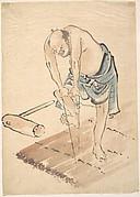 Man on a Raft