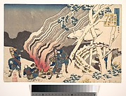 Poem by Minamoto no Muneyuki Ason, from the series One Hundred poems Explained by the Nurse (Hyakunin isshu uba ga etoki)