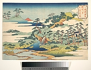The Sacred Spring at Jōgaku (Jōgaku reisen), from the series Eight Views of the Ryūkyū Islands (Ryūkyū hakkei)