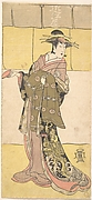 An Actor of the Segawa Line (Tomisaburo?) as a Courtesan