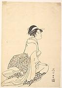 A Woman Kneeling