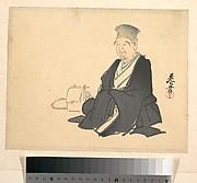 Portrait of Rikyū (?)