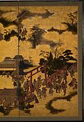 At the Shrine Gate