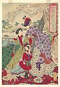 Western Clothing from the series An Array of Auspicious Customs of Eastern Japan (Azuma fūzoku, fukuzukushi-Yōfuku)