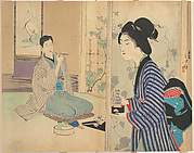 The Eel Master (Unagi danna), illustration from Bugei Kurabu (Literary Club)