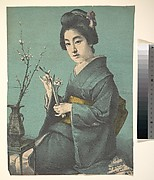 Girl with Plum Blossoms