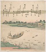Boat Ferrying Across River