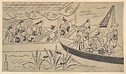 An Actor's Boating Party on the Sumida River
