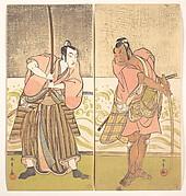 The Actor Sakata Hangoro II and the Actor Matsumoto Koshiro IV