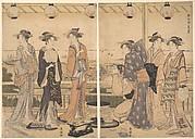 The Four Seasons in Southern Edo: A Summer Scene (Minami shiki;  Natsu [no] kei)