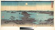 Full Moon at Kanazawa, Province of Musashi