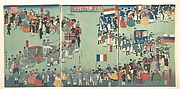 Picture of a Parade of the Five Nations