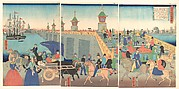 Illustration of London, England (Igirisukoku rondon zu)