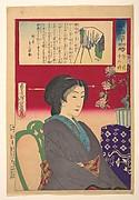 Twenty-Four Hours at Shinbashi/Yanagibashi: 12 Noon. (Shinyanagi nijūyo-ji, gozen jūni-ji)
