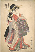 Courtesan, Shinohara and Kamuro of Tsuruya