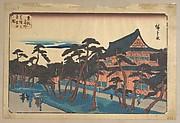 Zojoji Temple at Shiba in Snow