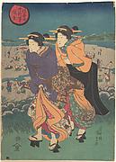 Annual event - the third month (Ukiyo nenjū gyōji: Yayoi)