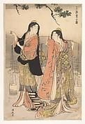 The Brine Maidens of Suma (Shiokumi, Suma)