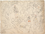 Page from a Dispersed Ramayana (Story of Rama)