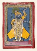 Shri Nathji Bedecked for Goswami Vitthalnathji's Birthday