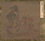 Mongol with Horse and Camel