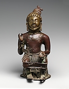 Seated Ascetic, Deified King, Agni (The God of Fire)