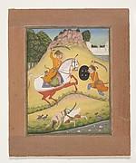 Nata Ragina: Folio from a ragamala series (Garland of Musical Modes)