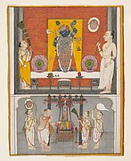Priests before Shri Nathji