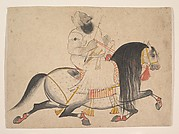 Equestrian Portrait of a Noble