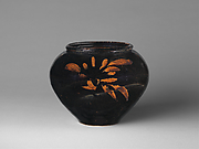 Jar with Abstract Decoration