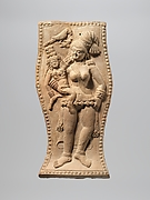 Yakshi Holding a Crowned Child with a Visiting Parrot