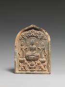 Plaque with Buddhist Triad