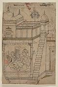 Desvarari Ragini: Folio from a ragamala series (Garland of Musical Modes)