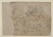 Vishnu on Garuda Slaying a Demon