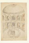 Interior of the Taj Mahal Mausoleum