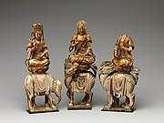 Buddha Shakyamuni with attendant bodhisattvas