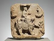 Bodhisattva Manjushri with Attendants