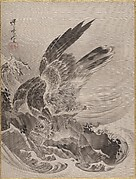 Eagle Attacking Fish