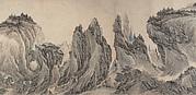 Serried Peaks amid Clouds and Mist