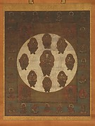 Mandala of Monju Bosatsu