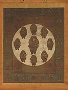 文殊菩薩曼荼羅図 <br/>Mandala of Monju Bosatsu