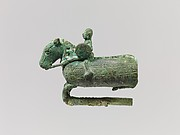 Mounting in Form of a Horse and Rider
