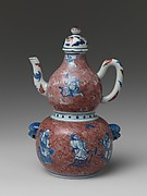 Wine Vessel with Daoist Immortals