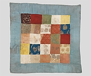 Patchwork of Woven Textiles