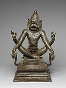 Yoga Narasimha, Vishnu's Man-Lion Incarnation