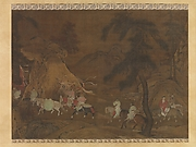 Emperor Xuanzong&#39;s Flight to Shu
