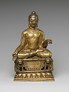 Enthroned Buddha Granting Boons