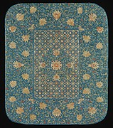 Furniture Cover with Pattern of Flowers and Sonorous Stones