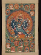 Vajrabhairava with Vajravetali